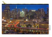 San Francisco From Potrero Hill Carry-all Pouch by Inge Johnsson