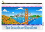 San Francisco Marathon Panorama Carry-all Pouch