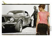 San Francisco Museum Of Art, Frank Bullitt, Steve Mcqueen, Ford Mustang Gt 390, Fastback Carry-all Pouch