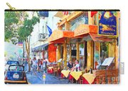 San Francisco North Beach Outdoor Dining Carry-all Pouch