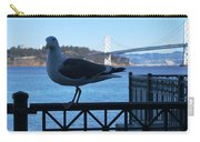 San Francisco - Oakland Bay Bridge - Seagull View Carry-all Pouch