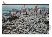 San Francisco Skyline And Coit Tower Carry-all Pouch