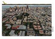 San Francisco Skyline And Coit Towersan Francisco Skyline And Coit Tower Carry-all Pouch