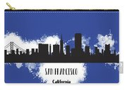 San Francisco Skyline Silhouette Carry-all Pouch