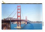 San Francisco's Golden Gate Bridge Carry-all Pouch
