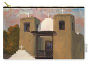 San Geronimo De Taos Spanish Mission Carry-all Pouch