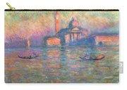 San Giorgio Maggiore Venice Carry-all Pouch by Claude Monet