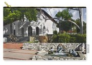 San Luis Mission Fountain Carry-all Pouch