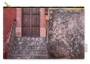 San Miguel Steps And Door Carry-all Pouch