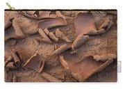 Sand And Mud Curls Carry-all Pouch
