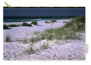 Sand Beach And Grass Carry-all Pouch
