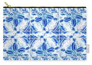 Sand Dollar Delight Pattern 6 Carry-all Pouch by Monique Faella