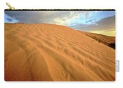 Sand Dune At Great Sand Hills In Scenic Saskatchewan Carry-all Pouch