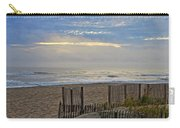 Sand Fence And Beach Carry-all Pouch