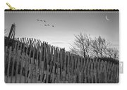 Dune Fences - Grayscale Carry-all Pouch