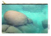 Sand Harbor Ripples Carry-all Pouch