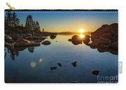 Sand Harbor Sunset Carry-all Pouch