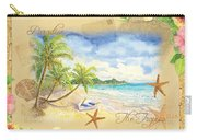 Sand Sea Sunshine On Tropical Beach Shores Carry-all Pouch