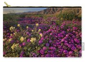Sand Verbena Coyote Mountains Anza Borrego State Park California Carry-all Pouch
