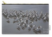 Sanderlings On The Shore Carry-all Pouch