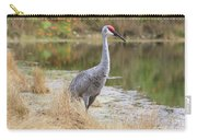 Sandhill Beauty By The Pond Carry-all Pouch