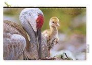 Sandhill Crane 3 Carry-all Pouch