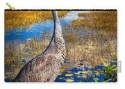 Sandhill Crane In The Glades Carry-all Pouch
