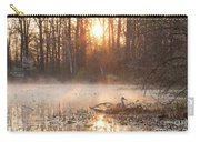 Sandhill Crane On Nest Carry-all Pouch