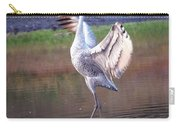 Sandhill Crane Painted Carry-all Pouch