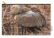 Sandhill Crane Preening Carry-all Pouch