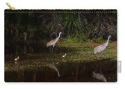 Sandhill Cranes And Chicks Carry-all Pouch