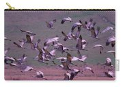 Sandhill Cranes  Carry-all Pouch by Jeff Swan