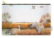 Sandhill Cranes-jp3159 Carry-all Pouch