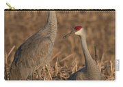 Sandhill Cranes On Watch Carry-all Pouch