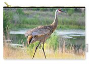 Sandhill In The Sunshine Carry-all Pouch by Carol Groenen