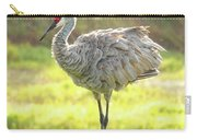 Sandhill Morning Fluff Carry-all Pouch
