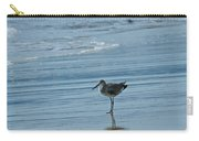 Sandpiper On The Beach Carry-all Pouch