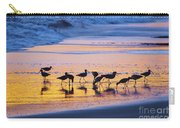 Sandpipers In A Golden Pool Of Light Carry-all Pouch
