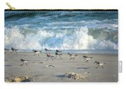 Sandpipers Running Everywhere Carry-all Pouch