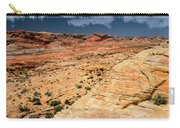 Sandstone Landscape Valley Of Fire Carry-all Pouch