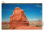 Sandstone Monolith, Courthouse Towers, Arches National Park Carry-all Pouch