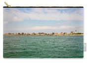 Sandy Neck Lighthouse And Cottages, Barnstable, Massachusetts, U.s.a. Carry-all Pouch