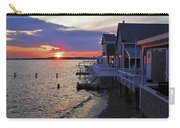 Sandy Neck Sunset At The Cottages Carry-all Pouch