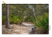 Sandy Path In Hunting Island South Carolina Carry-all Pouch