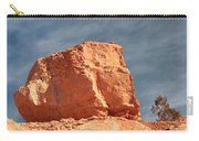 Sandy Rock In Morning Light Carry-all Pouch