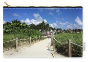 Sandy Trail Miami Florida Carry-all Pouch