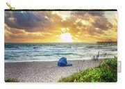 Sandy Walk Down To The Beach Carry-all Pouch