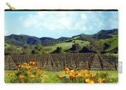 Sanford Ranch Vineyards Carry-all Pouch by Kurt Van Wagner