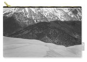 Sangre De Cristo Mountains And The Great Sand Dunes Bw V Carry-all Pouch by James BO  Insogna