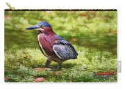 Sanibel Green Heron Carry-all Pouch